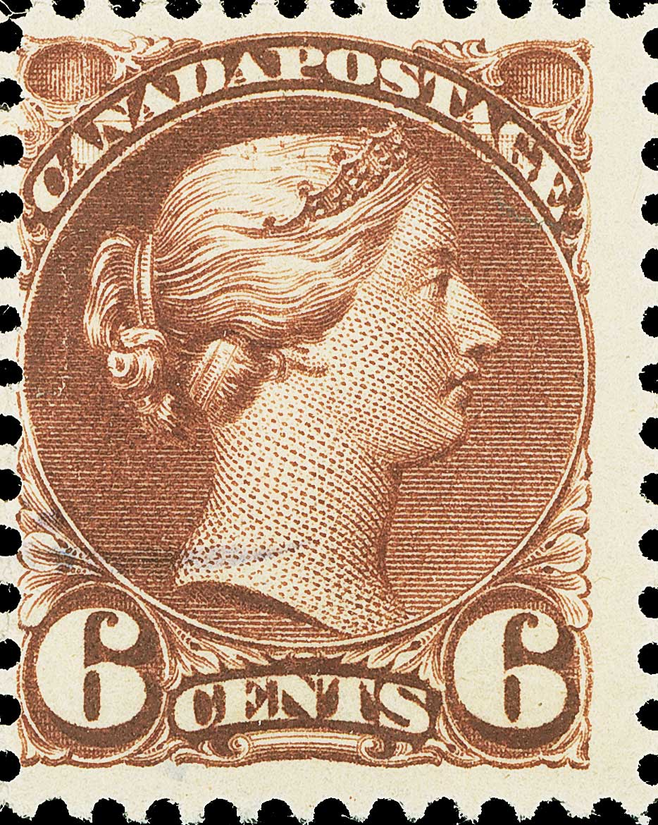 The 5¢ on 6¢ Small Queen